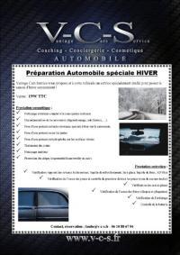 Préparation cosmétique automobile spéciale Hiver chez Vantage Cars Service