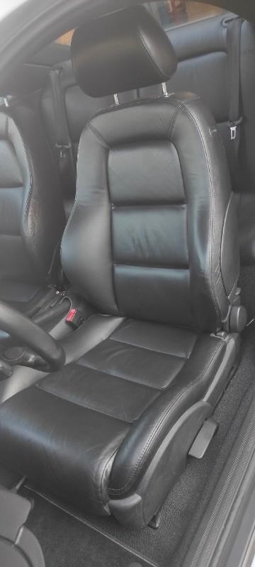 Vantage Cars Service - Rénovation complète de la sellerie cuir d'une Audi TT